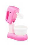 Pink toy blender Royalty Free Stock Images