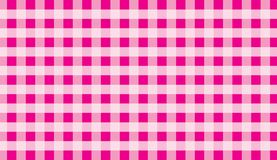 Pink traditional gingham background.Texture from squares for -tablecloths, clothes, shirts, dresses, paper and other textile prod. Ucts.llustration stock illustration