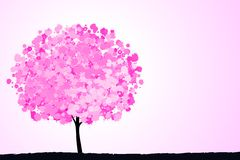 Pink tree. Stock Image