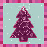 Pink tree decoration Royalty Free Stock Photos