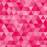 Pink triangles background Stock Images