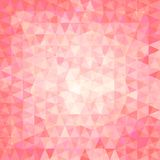 Pink triangular background Royalty Free Stock Image
