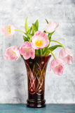 Pink tulips flowers Royalty Free Stock Photo