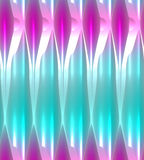 Pink and turquoise abstract background with glowing light effect. Royalty Free Stock Photos