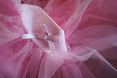Pink tutu Royalty Free Stock Photos