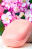 pink tvål Arkivfoto