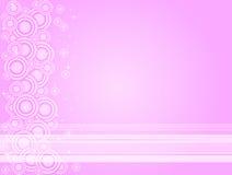 Pink Twilightabstract Stock Image