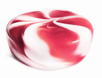 Pink twisted candy Royalty Free Stock Photography