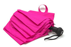 Pink umbrella Stock Photo