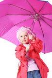 Pink umbrella Royalty Free Stock Image