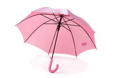 Pink umbrella Royalty Free Stock Photo