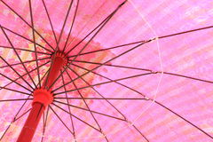 Pink umbrella Royalty Free Stock Image
