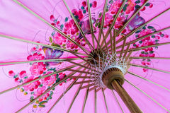 Pink umbrella. Royalty Free Stock Photos