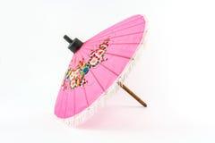Pink umbrella. Royalty Free Stock Images