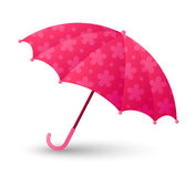 Pink umbrella Royalty Free Stock Images