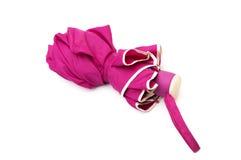 Pink umbrella Stock Photo