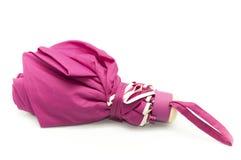 Pink umbrella Stock Images