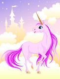 Pink unicorn Royalty Free Stock Image