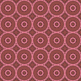 Pink universal vector seamless patterns, tiling. Geometric ornaments. Stock Image