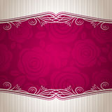 Pink valentine background,  Royalty Free Stock Photos