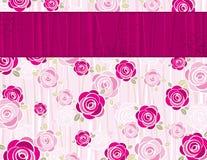 Pink valentine background,  Stock Image