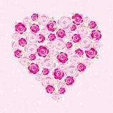 Pink valentine  heart,  Stock Photo