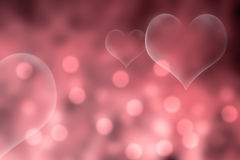 Pink Valentine's Day background Stock Photography