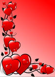 Pink Valentines background Stock Photo