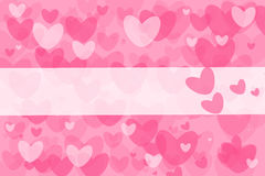Pink valentines background Stock Images