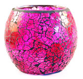 Pink vase stock photography