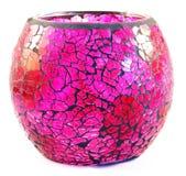 Pink vase. Image of a pink vase on white background Stock Photography