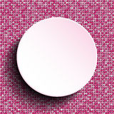 Pink vector circle. Sequin background. Eps 10. Stock Photo