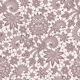 Pink Vector Lace. Seamless Pattern. Royalty Free Stock Images
