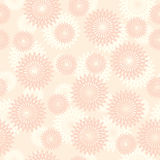 Pink vector texture with round elements Stock Images