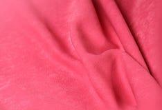 Pink velvet background Stock Image