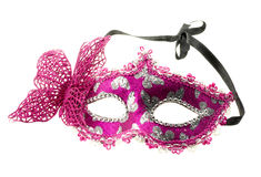 Pink Venetian Mask Stock Images