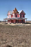 Pink Victorian House Royalty Free Stock Photos
