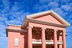 Pink villa Royalty Free Stock Photo