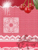 Pink vintage background Royalty Free Stock Images