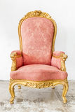 Pink Vintage Chair Royalty Free Stock Photo