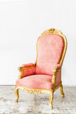 Pink Vintage Chair Stock Photography