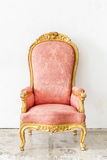 Pink Vintage Chair Royalty Free Stock Photography