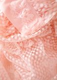 Pink vintage lace Stock Images