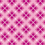 Pink Vintage Seamless Pattern Stock Photos