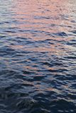 Pink violet and blue water Royalty Free Stock Photos