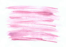 Pink violet hand drawn watercolor elements Stock Image