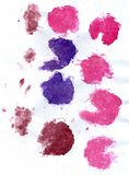 Pink and Violet Paint Stock Image