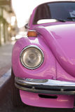 Pink Volkswagen beetle. Stock Photos