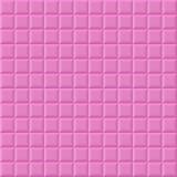 Pink volume squares Royalty Free Stock Image