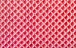 Pink Waffle Texture Stock Photos